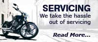 Servicing - take the hassle out of servicing - Read More...